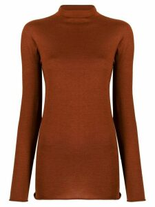 Boon The Shop funnel neck lightweight sweater - ORANGE