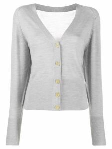 Joseph V-neck cardigan - Grey