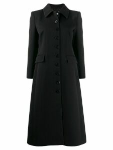 Givenchy buttoned single-breasted coat - Black