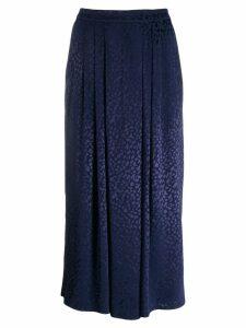 Roseanna Blondwalker slip skirt - Blue