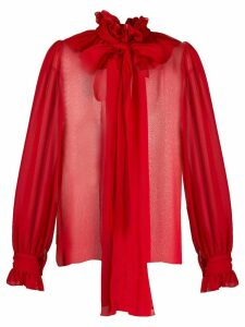 Blumarine pussybow blouse - Red