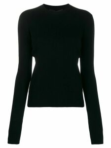 Haider Ackermann ribbed jumper - Black