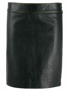 L'Autre Chose fitted skirt - Brown