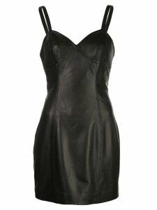 Fleur Du Mal fitted mini dress - Black