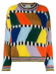 Essentiel Antwerp Tahini knitted jumper - Blue