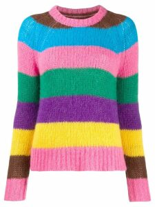 Chinti and Parker striped knit jumper - Blue