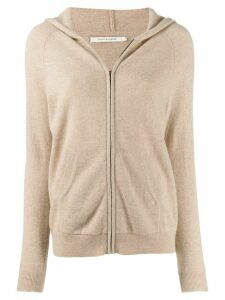 Chinti & Parker cashmere zip up cardigan - NEUTRALS