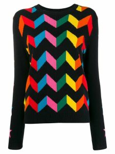 Chinti & Parker chevron stripe jumper - Blue