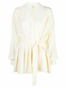 Proenza Schouler long-sleeved tie top - White
