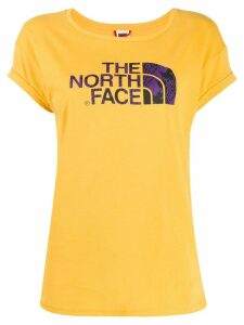The North Face logo print T-shirt - Yellow