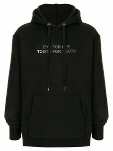 Makavelic Eye For Eye print hoodie - Black