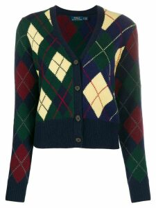 Polo Ralph Lauren argyle cardigan - Blue