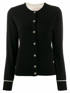 Tory Burch cashmere slim-fit cardigan - Black