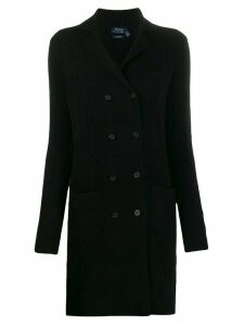 Polo Ralph Lauren double-breasted cardi-coat - Black