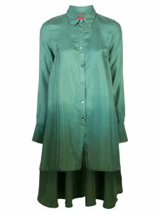 F.R.S For Restless Sleepers ombré-print silk shirt - Green