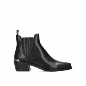 Dkny Michelle - Black Western Style Ankle Boots