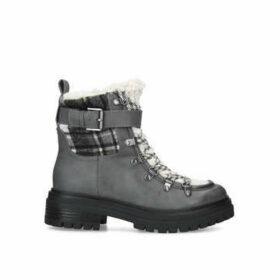 Sam Edelman Gretchen - Grey Chunky Hiker Boots