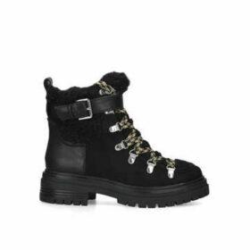 Sam Edelman Gretchen - Black Chunky Hiker Boots