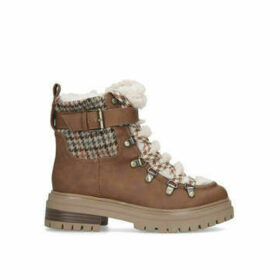 Sam Edelman Gretchen - Brown Chunky Hiker Boots