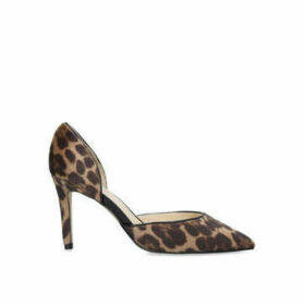 Nine West Eava - Leopard Print Stiletto Heel Courts