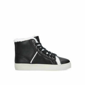 Nine West Mellie3 - Black High Top Lace Up Trainer