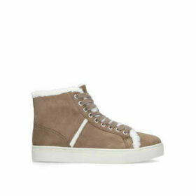 Nine West Mellie - Beige High Top Trainers