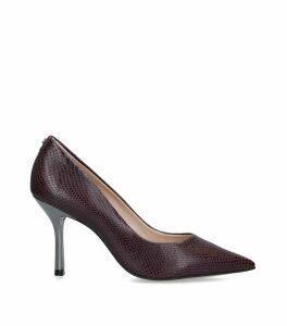 Leather Achievement Heels 90