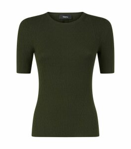 Ribbed Wool Top