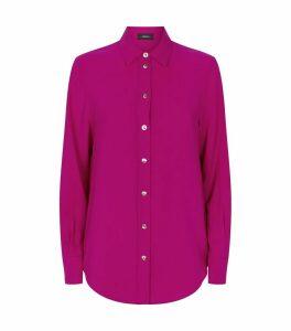 Textured Silk Shirt