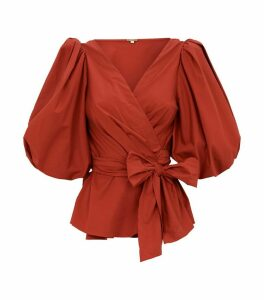 Tierra Wrap Blouse