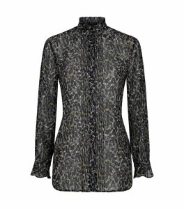 Louise Waterleo Leopard Blouse