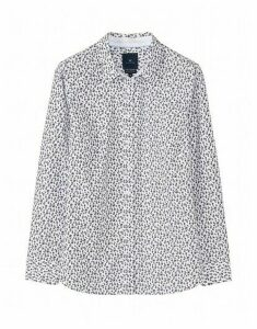 Lulworth Poplin Shirt in White
