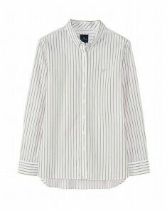 Austell Shirt in Khaki Stripe