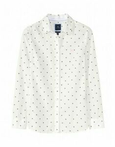 Penhale Poplin Shirt in White