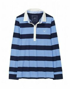 Rugby Shirt in Light Indigo Blue