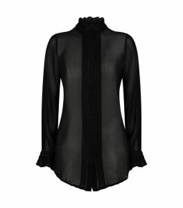 Louise Semi-Sheer Blouse