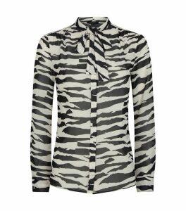 Toni Zephyr Neck-Tie Shirt