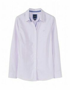 Classic Fit Oxford Shirt  in Lilac