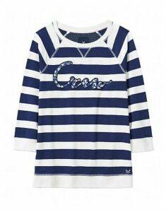 Polpero Slogan Sweatshirt In Navy
