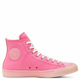 Unisex Neon Leather Chuck Taylor All Star High Top