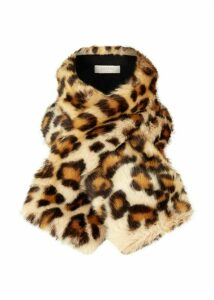 Leigh Neck Wrap Leopard