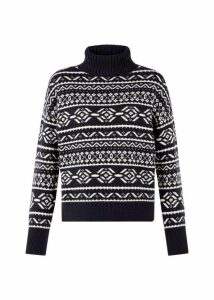Halley Sweater Navy Ivory
