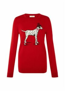 Riley Sweater Red XL