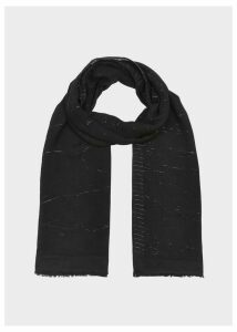 Matilda Scarf Black Metallic