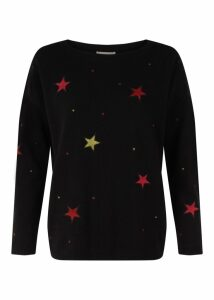 Gabrielle Sweater Black Multi XS