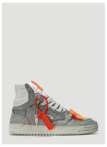 Off-White Off-Court 3.0 Glitter Sneakers in Silver size EU - 41