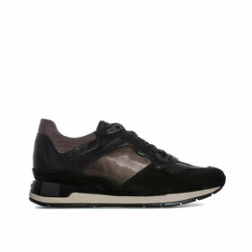 Geox Womens Shahira Trainers Size 3 in Black