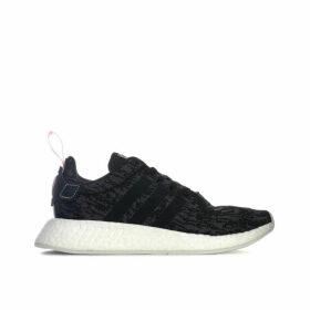 adidas Originals Womens NMD R2 Trainers Size 3.5 in Black