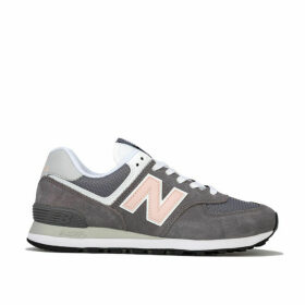 New Balance Womens 574 Suede Trainers Size 7 in Grey
