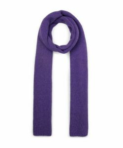 Caos Long Ribbed Scarf